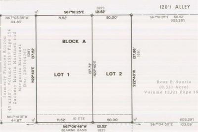Austin TX Residential Lots & Land For Sale: $599,000