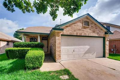 Leander Single Family Home For Sale: 809 House Creek Dr