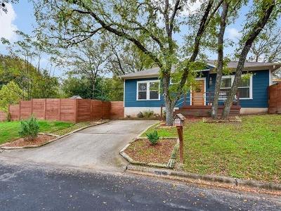 Travis County Single Family Home Pending - Taking Backups: 3903 E 16th St