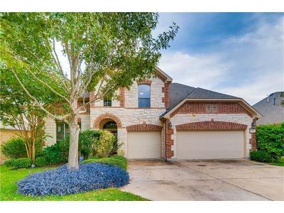 Round Rock Single Family Home For Sale: 1987 Dresden Cv