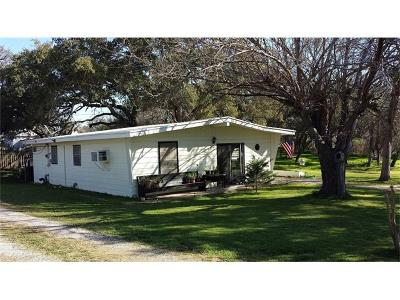 Burnet County Single Family Home For Sale: 201 Clear Creek Rd