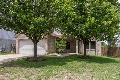 Round Rock Single Family Home For Sale: 4402 Cisco Valley Dr