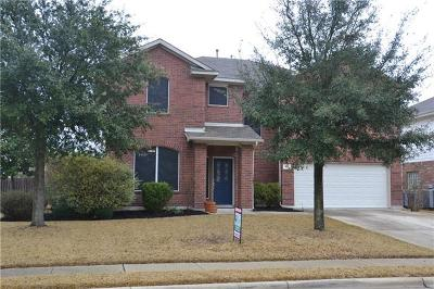Pflugerville Single Family Home For Sale: 18817 Chrighton Castle Bnd