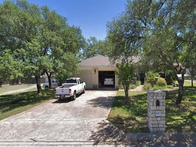 Austin Single Family Home Pending - Taking Backups: 8807 Gallant Fox Rd