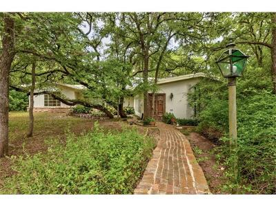 Austin Single Family Home For Sale: 2600 Tanglewood Trl