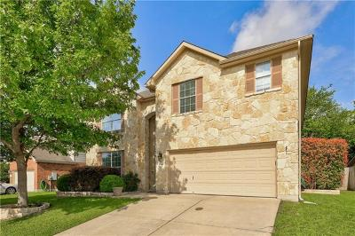 Cedar Park Single Family Home For Sale: 1607 Harvest Bend Ln