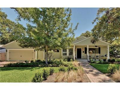 Austin TX Single Family Home For Sale: $1,100,000