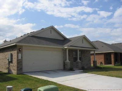 Hutto Rental For Rent: 406 Peaceful Haven Way