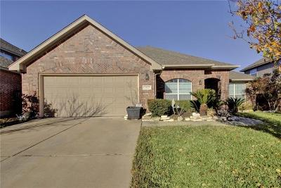 Manor Single Family Home For Sale: 13825 Long Shadow Dr