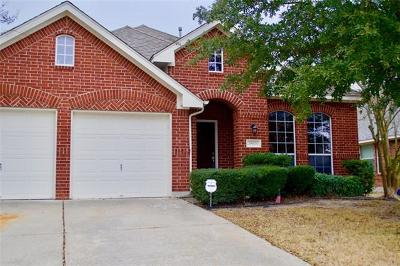 Pflugerville Single Family Home For Sale: 19406 Gale Meadow Dr