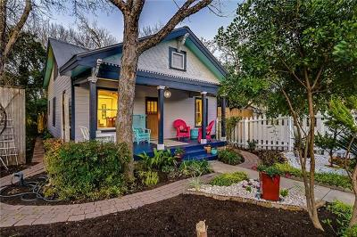 Hays County, Travis County, Williamson County Single Family Home For Sale: 704 W Mary St