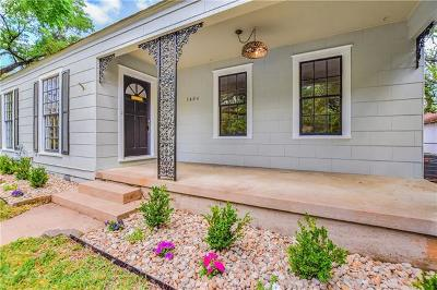 Austin Single Family Home Pending - Taking Backups: 1404 W 29th St