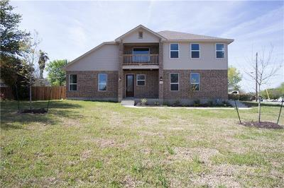 Round Rock Single Family Home For Sale: 1106 Greenlawn Blvd