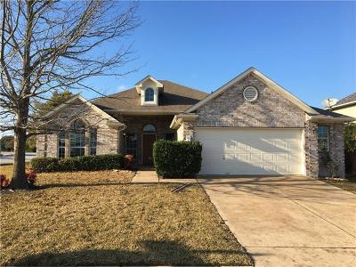 Pflugerville Single Family Home Pending - Taking Backups: 2900 Cajuiles Dr