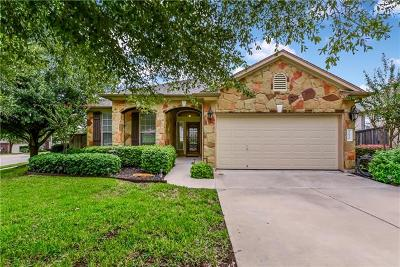 Round Rock Single Family Home Pending - Taking Backups: 1620 Hidden Springs Path