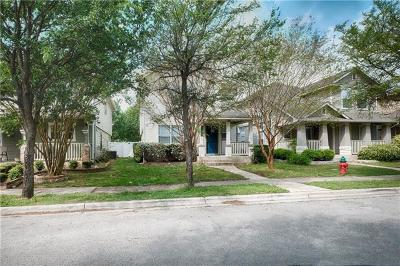 Pflugerville Single Family Home Pending - Taking Backups: 17732 Great Basin Ave