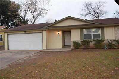 Austin Single Family Home For Sale: 2412 Wagon Crossing Path
