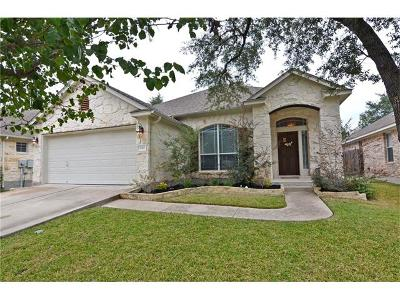 Cedar Park Single Family Home For Sale: 2717 Checker Dr