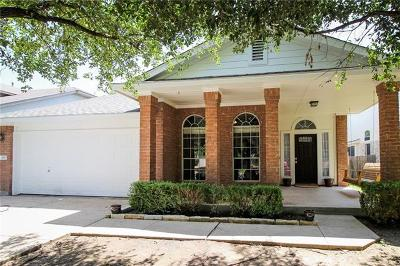 Round Rock Single Family Home For Sale: 651 Reggie Jackson Trl