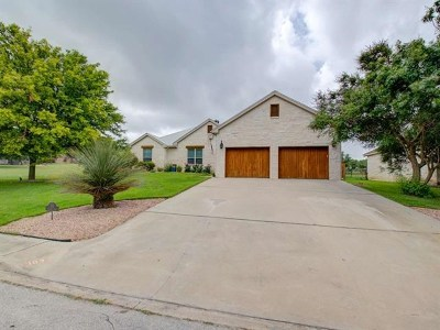 Burnet County Single Family Home For Sale: 103 Natalie's Point