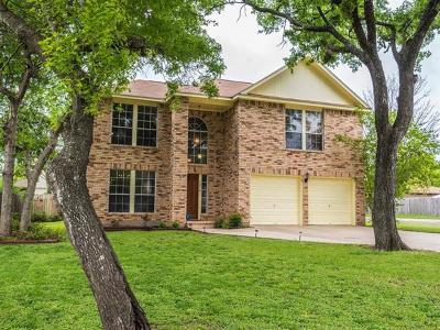 Cedar Park Single Family Home Pending - Taking Backups: 1210 Forest Oaks Path