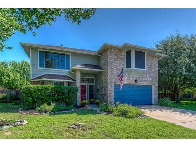 Pflugerville Single Family Home For Sale: 801 Parkview Cv