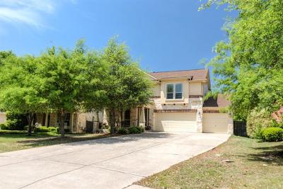 Cedar Park Single Family Home For Sale: 3503 Twin Branch Dr