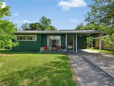 Travis County Single Family Home Pending - Taking Backups: 401 N Irma Dr