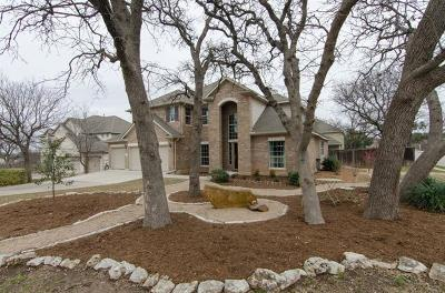Leander Single Family Home Pending - Taking Backups: 2004 Starr Pass