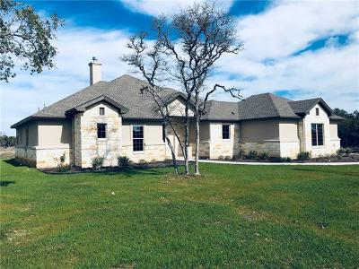 Burnet Single Family Home For Sale: 300 Carpenter Loop