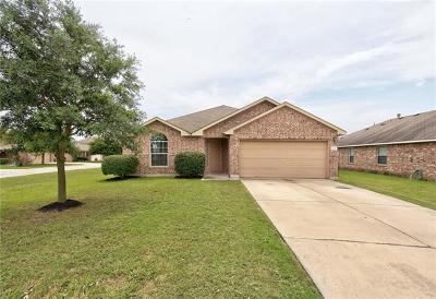 Hutto Single Family Home Pending - Taking Backups: 134 Campos Dr