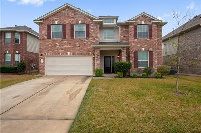Pflugerville Single Family Home Pending - Taking Backups: 2904 Pedernales Falls Dr