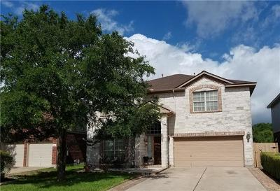 Round Rock Single Family Home For Sale: 6063 Almelo Dr