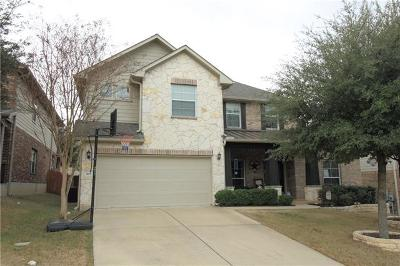 Cedar Park Single Family Home Pending - Taking Backups: 509 Williams Way