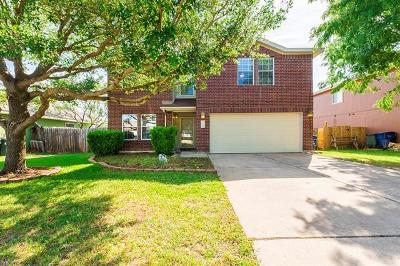 Leander  Single Family Home For Sale: 704 Eaglecreek Dr
