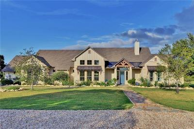 Marble Falls Single Family Home For Sale: 601 Summit Springs Dr