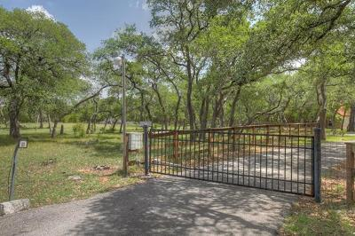 Wimberley Single Family Home For Sale: 1300 River Mountain Rd