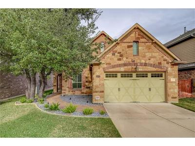 Cedar Park TX Single Family Home Pending - Taking Backups: $374,000
