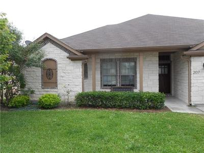 Georgetown Single Family Home For Sale: 207 Valley Oaks Loop