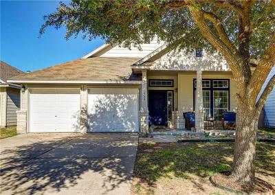 Hutto Single Family Home For Sale: 536 W Metcalfe St