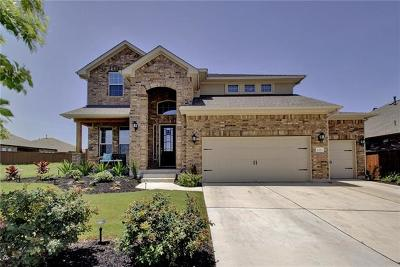 Round Rock Single Family Home For Sale: 2700 Florin Cv
