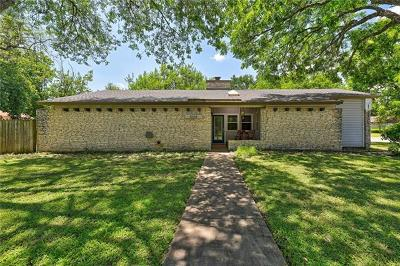 Round Rock Single Family Home For Sale: 1508 Egger Ave