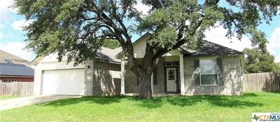 Killeen Single Family Home For Sale: 168 Cross Bend Dr