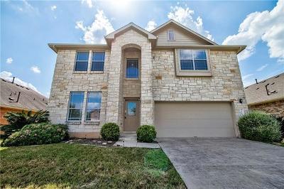 Buda Single Family Home For Sale: 2178 Garlic Creek Dr
