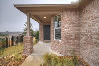 Georgetown Single Family Home Pending - Taking Backups: 122 Cleburne Pass