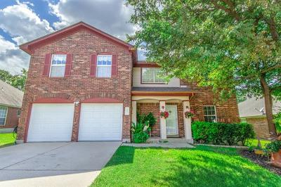 Cedar Park Single Family Home For Sale: 2807 Oakwood Glen Dr