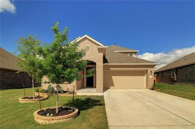 Leander Single Family Home For Sale: 2433 Lyla Ln