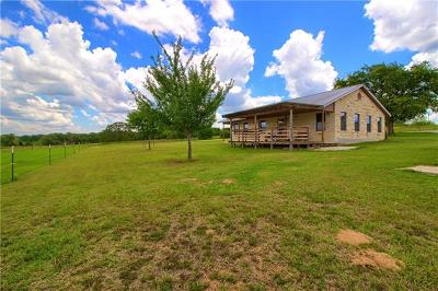 Bastrop County Single Family Home Pending - Taking Backups: 727 Old Sayers Rd