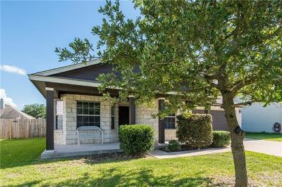 Hutto TX Single Family Home For Sale: $240,000