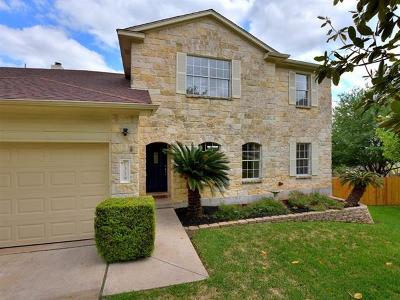 Round Rock Single Family Home For Sale: 1319 Solitaire